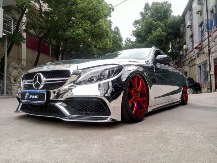 c63 amg改装_经典案例 - Mercedes Benz C200 Wagon